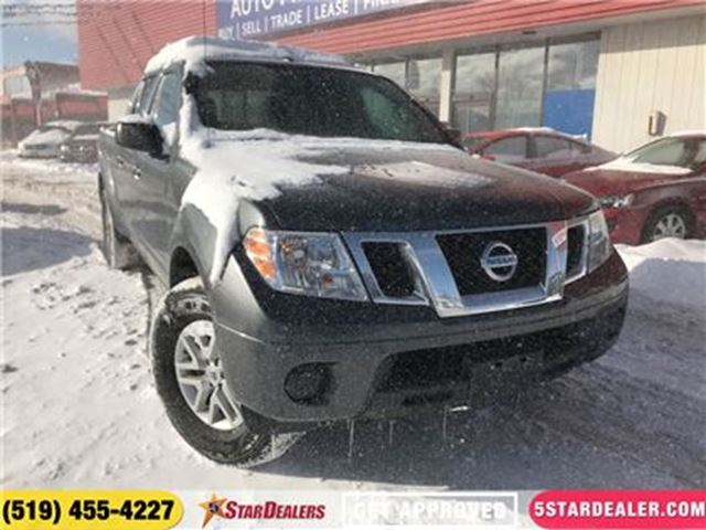 2017 NISSAN FRONTIER SV   ONE OWNER   4X4   BLUETOOTH in London, Ontario