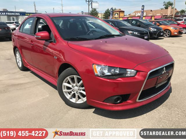 2015 MITSUBISHI LANCER SE   ONE OWNER   HEATED SEATS in London, Ontario
