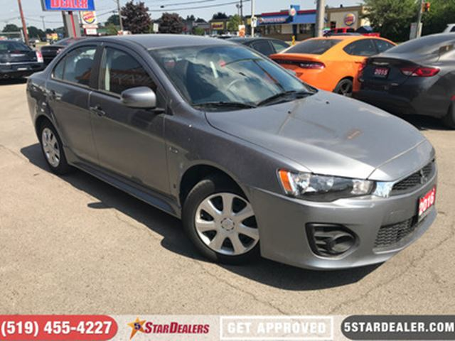 2016 MITSUBISHI LANCER ES   ONE OWNER in London, Ontario