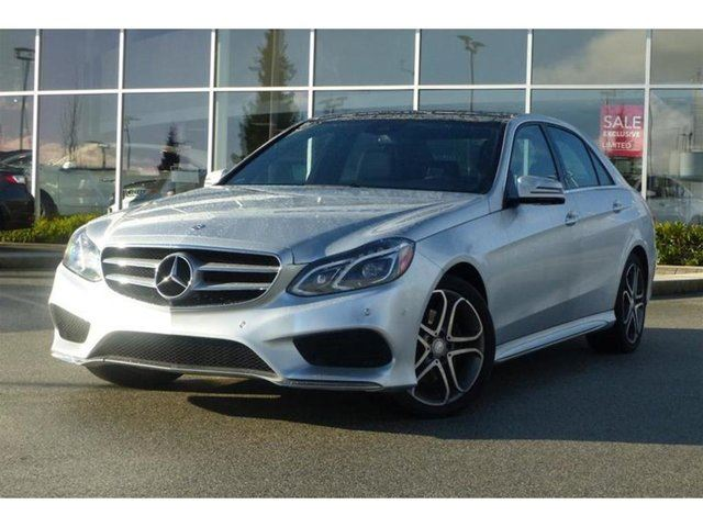 2014 MERCEDES-BENZ E-CLASS Bluetec 4matic Sedan in North Vancouver, British Columbia