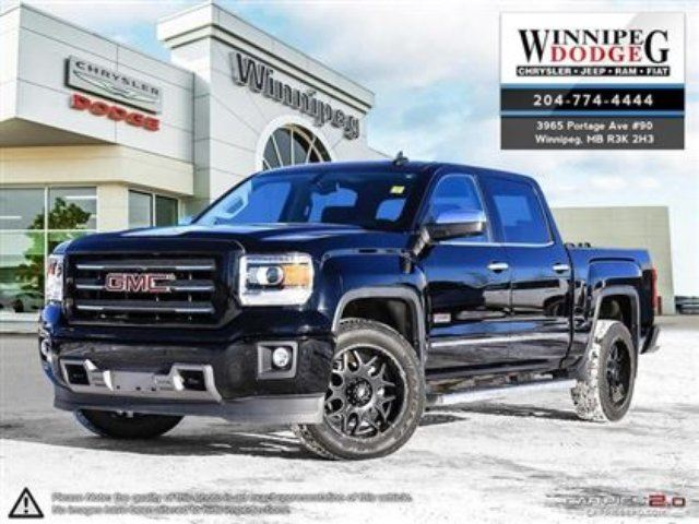 2015 GMC SIERRA 1500 SLT in Winnipeg, Manitoba