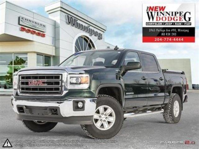 2015 GMC SIERRA 1500 SLE in Winnipeg, Manitoba