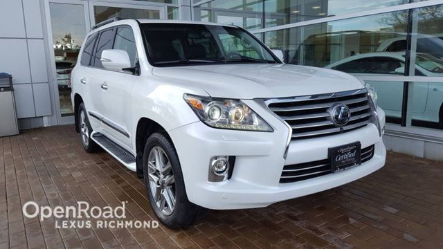 2015 LEXUS LX 570 Executive Pkg - Certified in Richmond, British Columbia