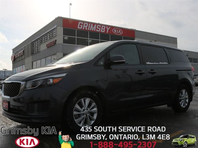 2017 Kia Sedona LX...FOR THE FAMILY, BUT REALLY FOR YOU!!! in Grimsby, Ontario