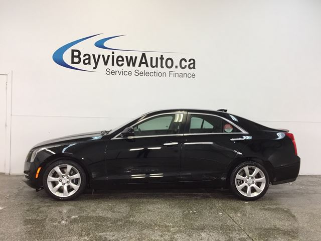2016 CADILLAC ATS LUXURY- AWD|TURBO|HTD LTHR|REV CAM|BOSE|BLUETOOTH! in Belleville, Ontario