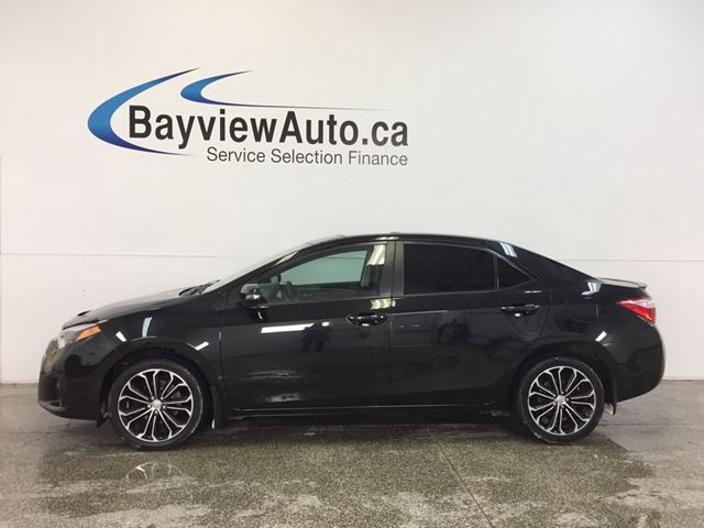 2016 TOYOTA COROLLA LEATHER! ROOF! LOADED! in Belleville, Ontario