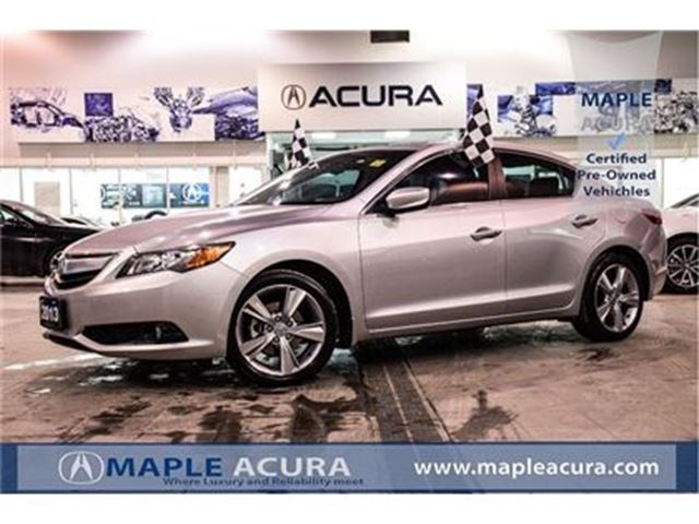 2013 Acura ILX Prem Pkg, Leather, back up cam, alloy wheel. in Maple, Ontario