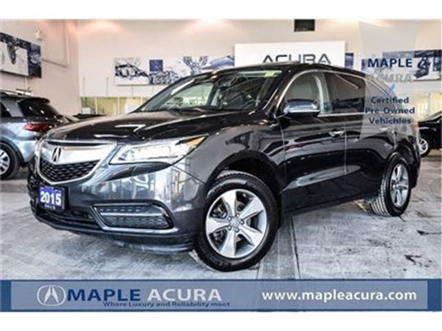 2015 Acura MDX Base, Leather, sunroof, Alloy wheels in Maple, Ontario