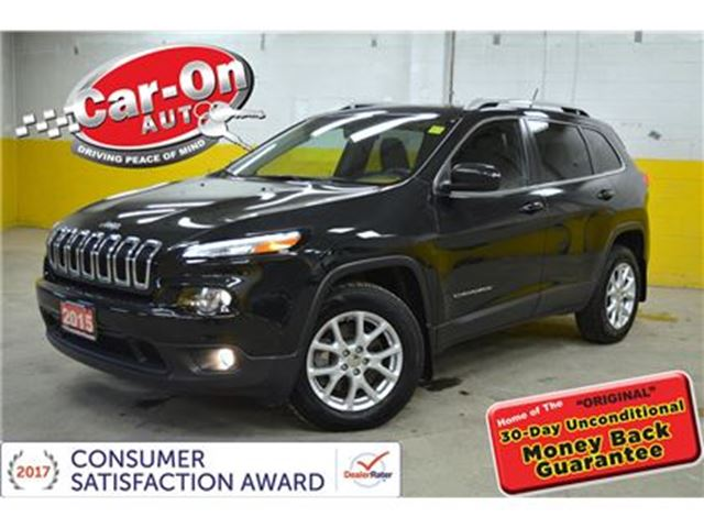 2015 JEEP CHEROKEE North V6 4X4 PANO ROOF REAR CAM REMOTE START in Ottawa, Ontario