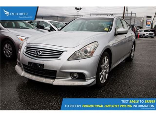 2010 INFINITI G37 x - in Coquitlam, British Columbia