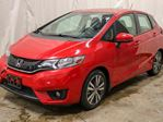 2016 Honda Fit EX-L Navi 4dr Hatchback Automatic w/ Sunroof, Leather in Edmonton, Alberta