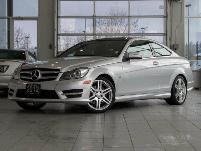 2012 MERCEDES-BENZ C-CLASS C 350 2dr Rear-wheel Drive Coupe in Kelowna, British Columbia