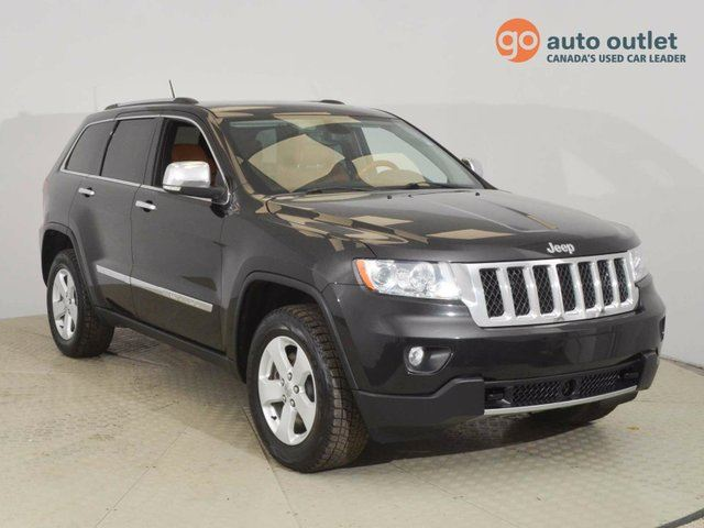 2013 JEEP GRAND CHEROKEE Overland 4dr 4x4 in Red Deer, Alberta