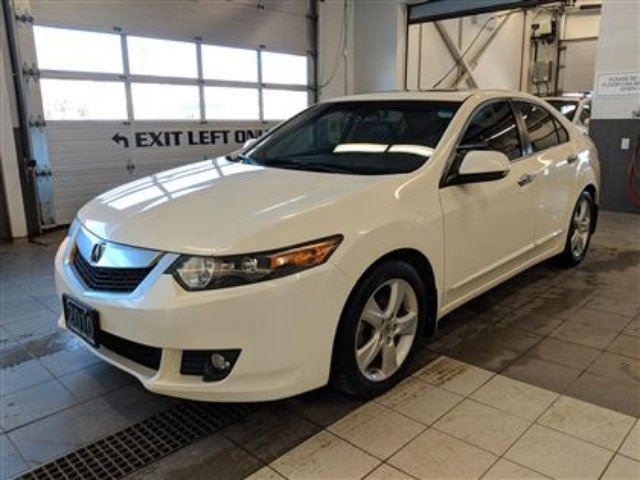 2010 acura tsx leather heated seatssunroofrear spoiler white 2010 acura tsx sciox Image collections