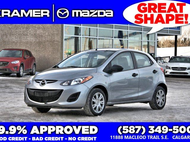 2014 MAZDA MAZDA2 GX w/5-Speed Manual Transmission in Calgary, Alberta