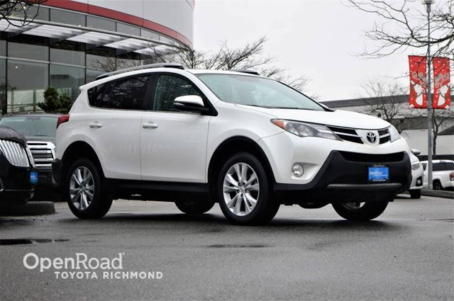 2015 TOYOTA RAV4 Limited, LOADED WITH OPTIONS! in Richmond, British Columbia