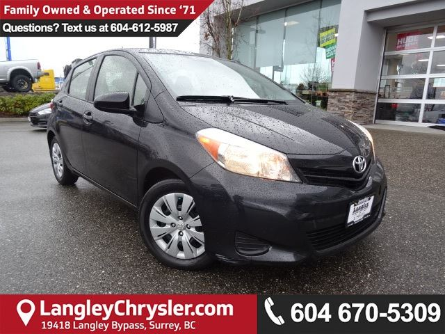 2012 TOYOTA YARIS LE *LOCAL BC CAR* LOW KMS*DEALER INSPECTED* in Surrey, British Columbia
