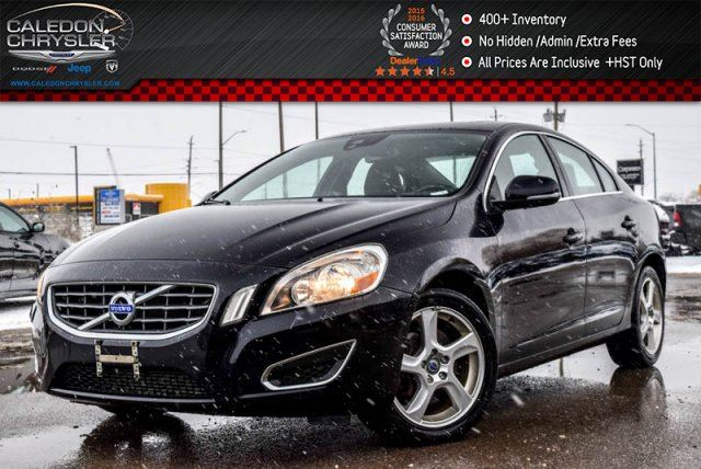 2012 VOLVO S60 T5 Sunroof Bluetooth Heated Front Seats Pwr Seats Keyless Entry 17Alloy Rims in Bolton, Ontario
