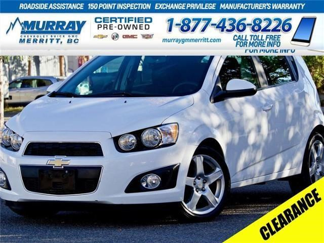 2016 Chevrolet Sonic LT in Merritt, British Columbia