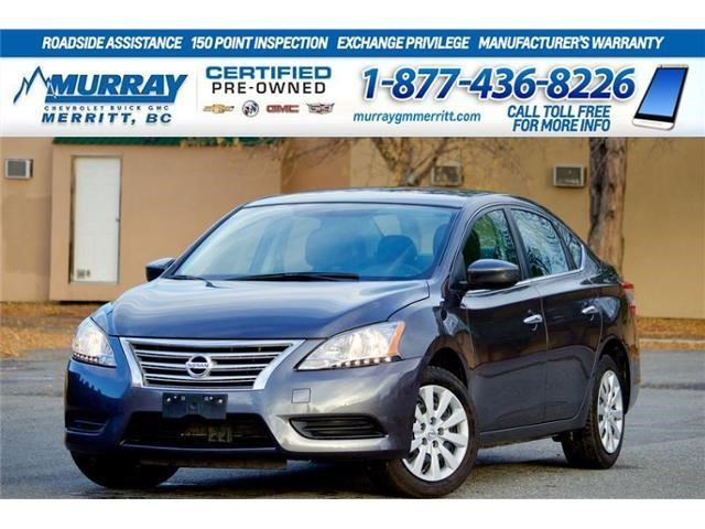 2015 Nissan Sentra S in Merritt, British Columbia