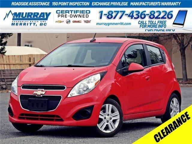 2014 Chevrolet Spark LT in Merritt, British Columbia