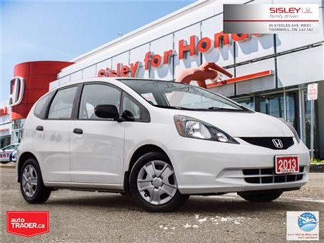 2013 HONDA FIT DX-A (A5) in Thornhill, Ontario