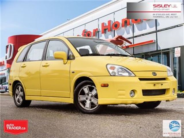 2003 SUZUKI AERIO 5 Dr Hatchback AS-IS you certify, you save in Thornhill, Ontario