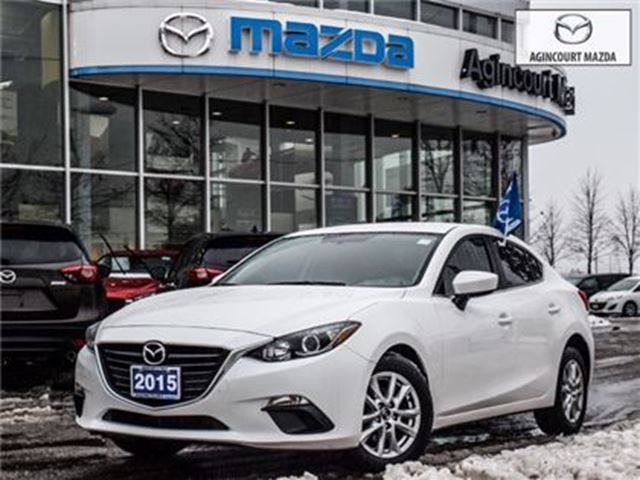 2015 MAZDA MAZDA3 GS-CONV PKG, TINTS, ALLOYS, HEATED SEATS in Scarborough, Ontario