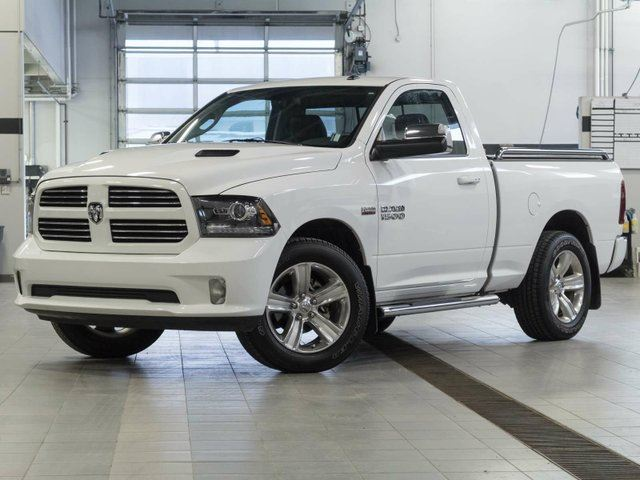 2014 DODGE RAM 1500 Sport w/Navigation and Firestone Airbag Suspension in Kelowna, British Columbia