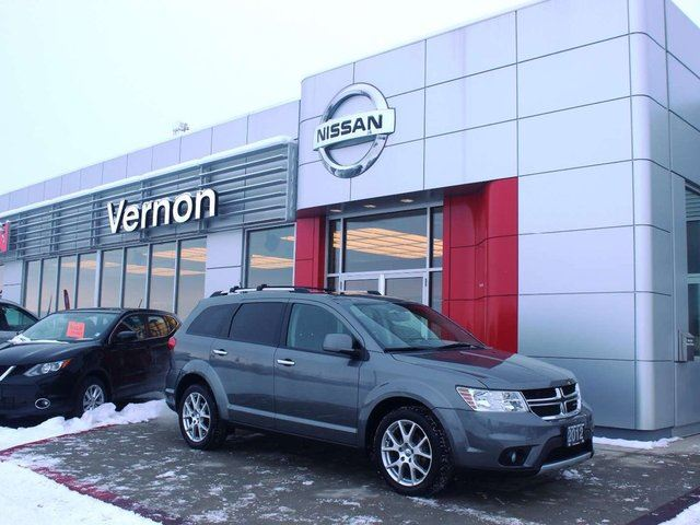 2012 DODGE JOURNEY R/T in Kelowna, British Columbia