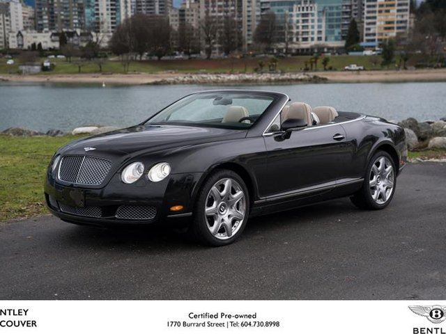 2008 BENTLEY CONTINENTAL Base in Vancouver, British Columbia