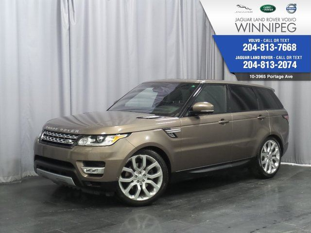 2016 LAND ROVER RANGE ROVER Sport Td6 HSE *SOLD* Check other Sports in Winnipeg, Manitoba