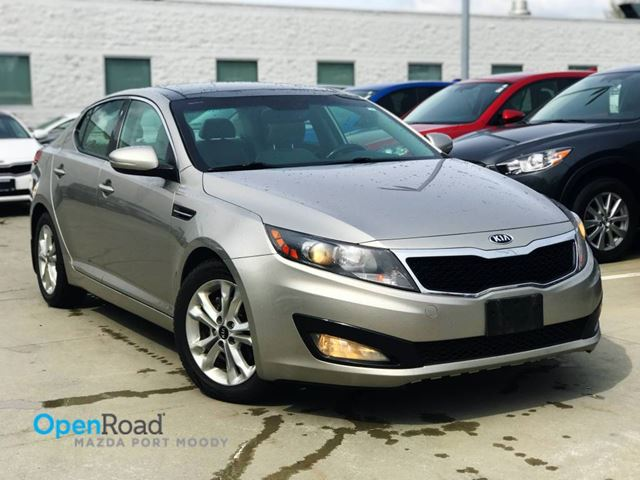2013 KIA OPTIMA EX A/T No Accident Local Bleutooth USB AUX Leat in Port Moody, British Columbia