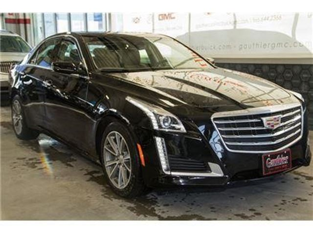 2017 CADILLAC CTS Luxury Collection AWD in Winnipeg, Manitoba