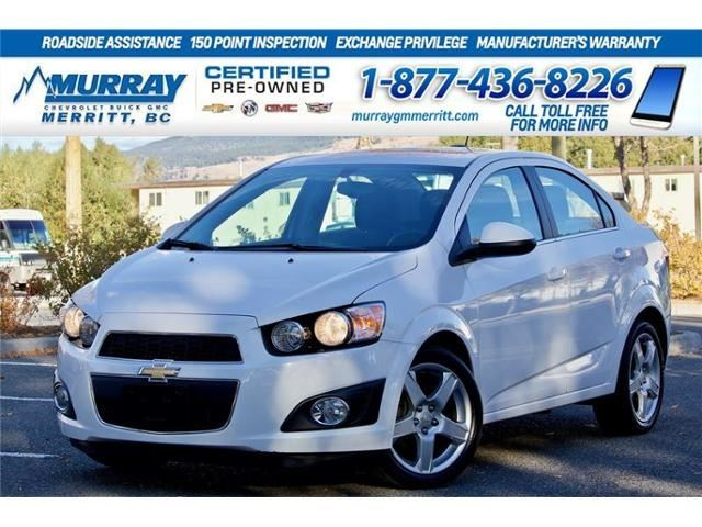 2015 Chevrolet Sonic LT in Merritt, British Columbia