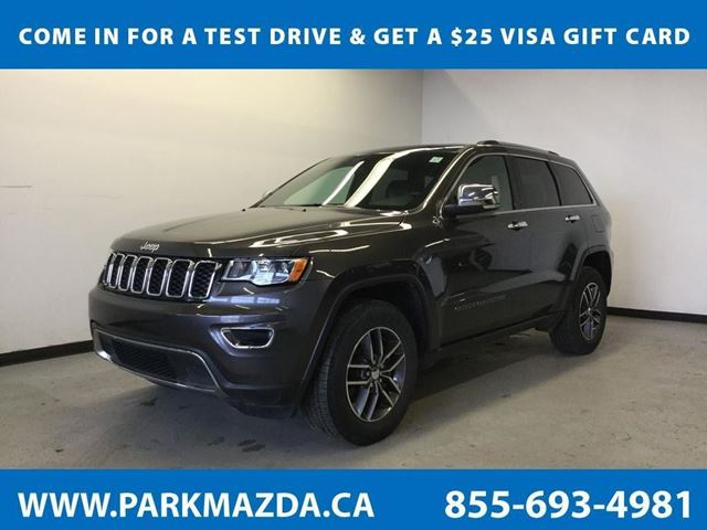 2017 JEEP Grand Cherokee Limited in Sherwood Park, Alberta