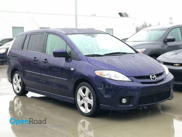 2006 MAZDA MAZDA5 GT M/T No Accident Local CD Player AUX Sunroof  in Port Moody, British Columbia