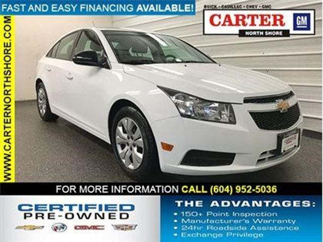 2014 CHEVROLET CRUZE 2LS in North Vancouver, British Columbia