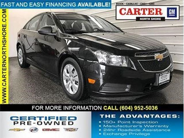 2012 CHEVROLET CRUZE LS+ w/1SB in North Vancouver, British Columbia