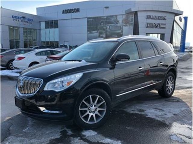 2013 BUICK Enclave Leather, GPS, Dual sunroofs in Mississauga, Ontario