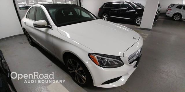 2016 MERCEDES-BENZ C-CLASS 4dr Sdn C 300 4MATIC in Vancouver, British Columbia