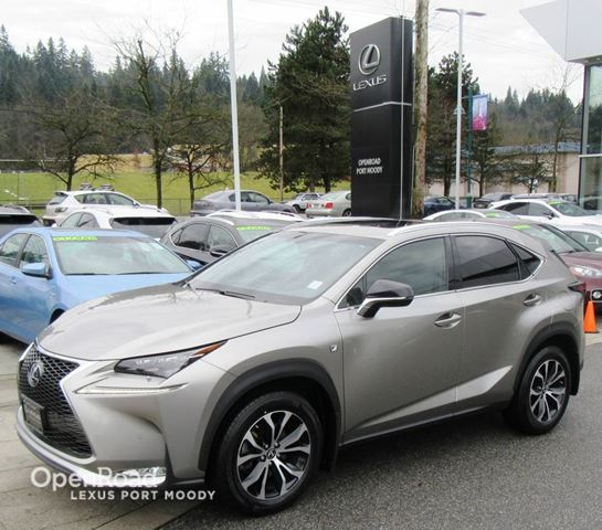 2015 LEXUS NX 200T F Sport - Navigation - Blind Spot Monitor in Port Moody, British Columbia