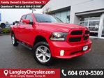 2015 Dodge RAM 1500 Sport *ACCIDENT FREE*ONE OWNER*LOCAL BC TRUCK* in Surrey, British Columbia