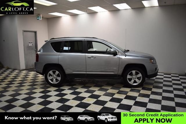 2016 JEEP COMPASS Sport/North 4x4- BACKUP CAM * HEATED SEATS * LEATH in Kingston, Ontario