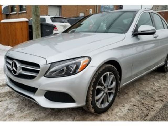 2017 mercedes benz c class 300 4matic premium 1st class for Mercedes benz prepaid maintenance