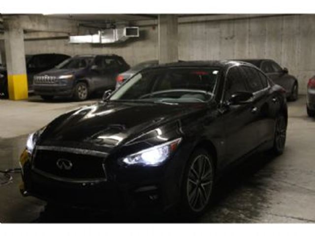 2015 INFINITI Q50 Sport package AWD in Mississauga, Ontario