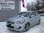2012 Hyundai Accent 6SP/AC/CRUISE/PWR, 12M.WRTY+SAFETY $6290 in Ottawa, Ontario