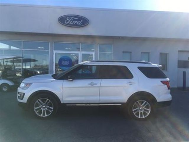 2016 FORD Explorer XLT-Ford Certified Pre-Owned in Ottawa, Ontario