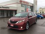 2014 Toyota Sienna SE New Brakes Power Doors Sunroof in Bowmanville, Ontario