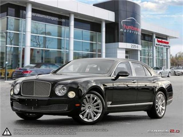 2016 BENTLEY MULSANNE LIKE BRAND NEW WITH ONLY 95 KM in Mississauga, Ontario